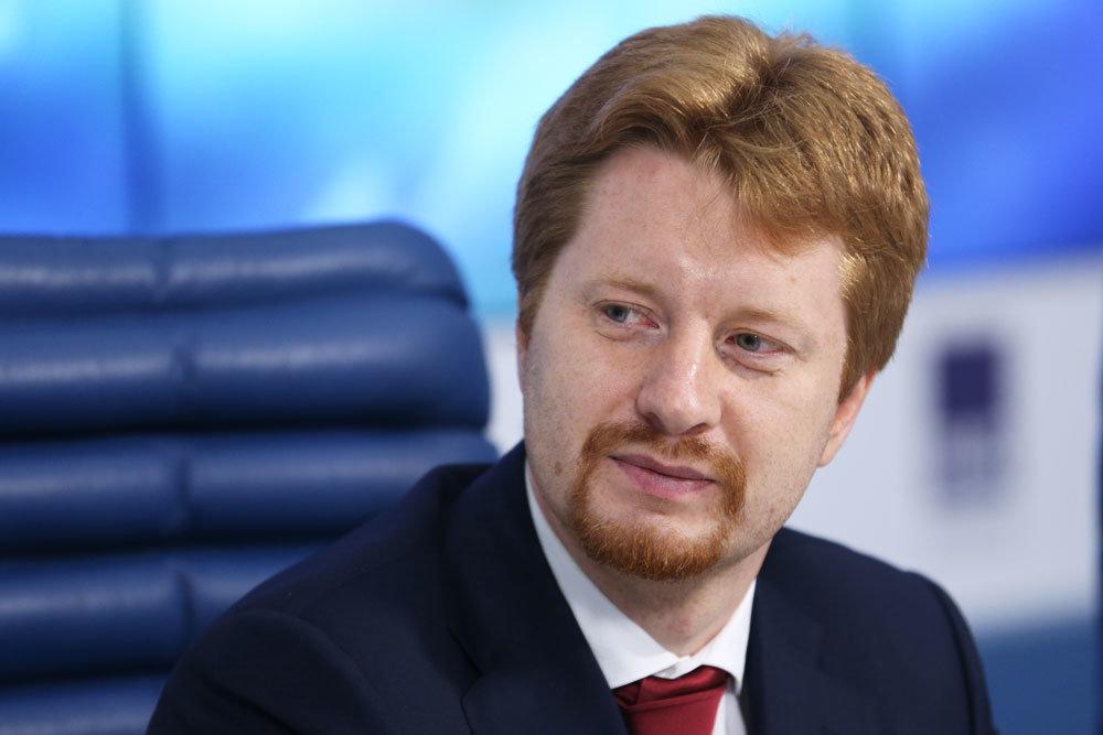 Тренер сборной России Владимир Поткин