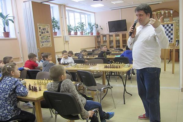 Мастер-класс для детей международного гроссмейстера Валерия Попова